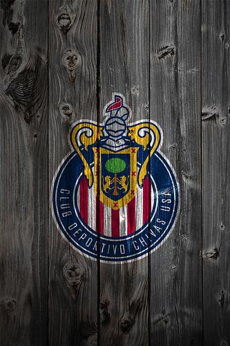 Soccer Iphone X Wallpaper Chivas Usa Wood Iphone 4 Background Chivas Usa Logo On