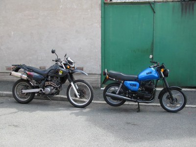 MZ 500R and Baghira 660   A 500R - one of only about 1100 ma…   Flickr