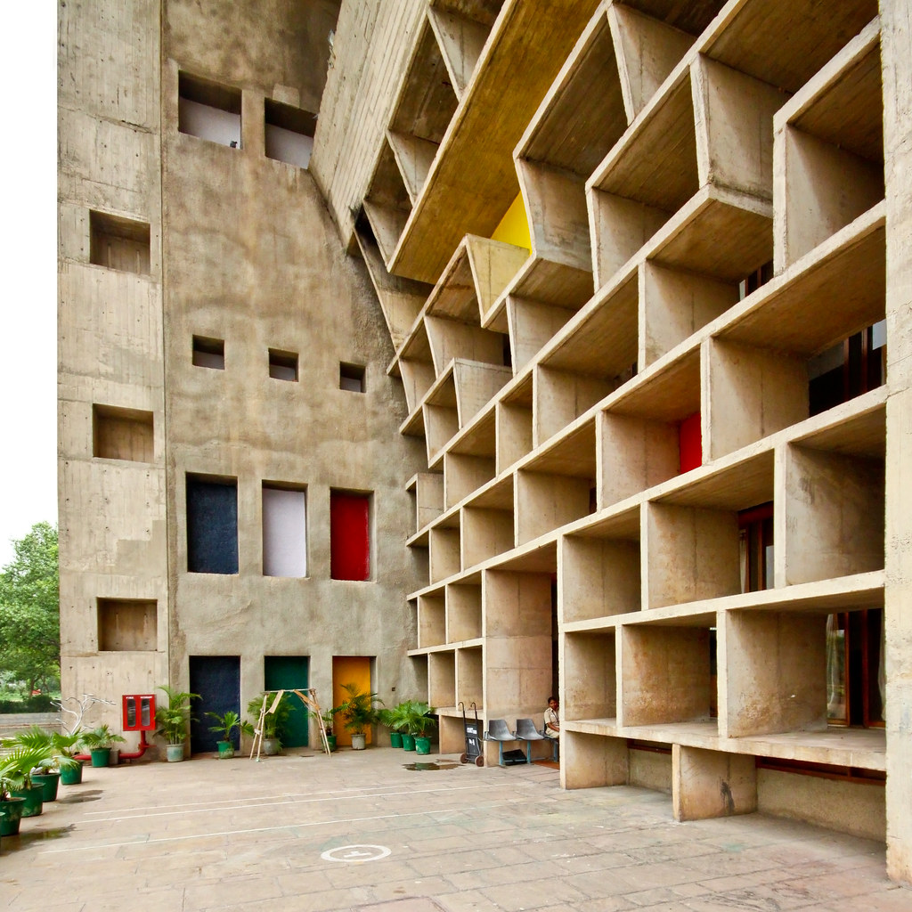 Plans For Building A New House Chandigarh High Court - Le Corbusier | After The Partition
