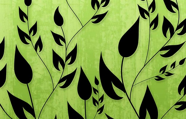 Bright Colors Wallpaper 3d Climbing Vines Wallpapers In Lime Green By Backgroundsetc