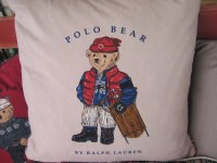 FLOWN: Polo Bear pillow by Ralph Lauren | The Living Room ...