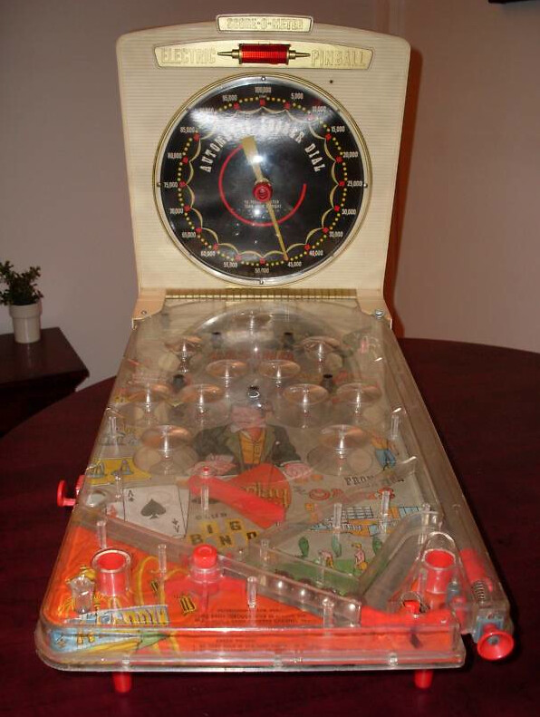 Vintage Blog Vintage Marx Tabletop Casino Pinball Arcade Machine | Flickr