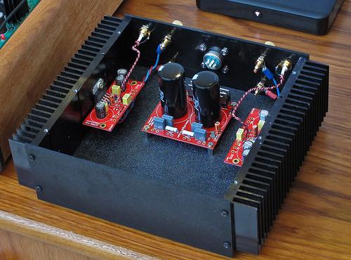 Sound Wiring Schematic Diy Lm3886 Gainclone Stereo Amplifier Next Stage Of