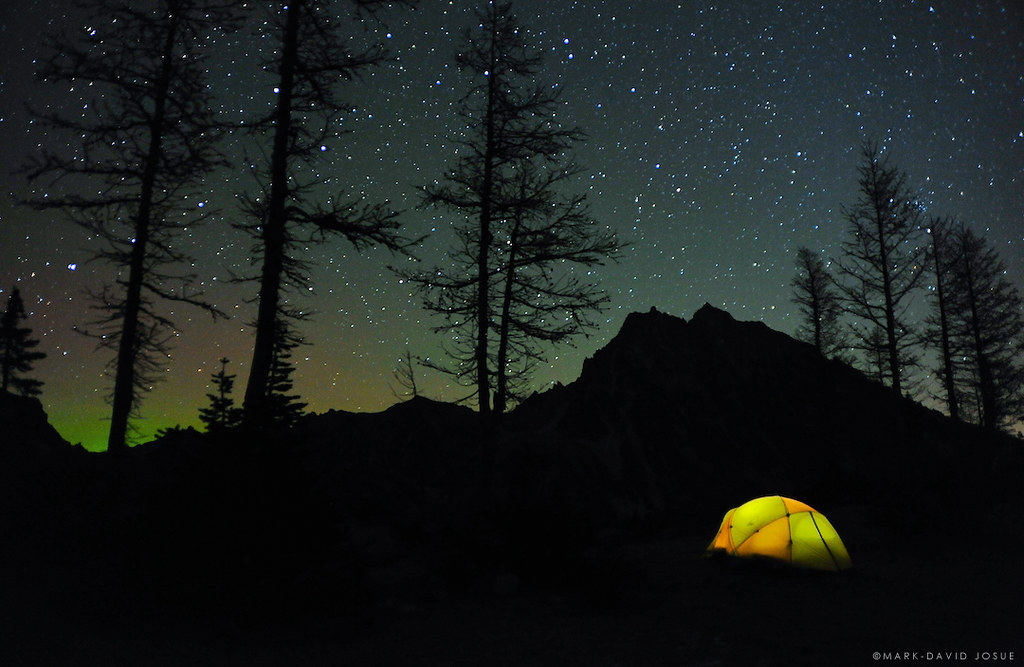 Wallpaper Of Good Night With Quotes Under The Milky Way Night At Ingalls Pass Press L To