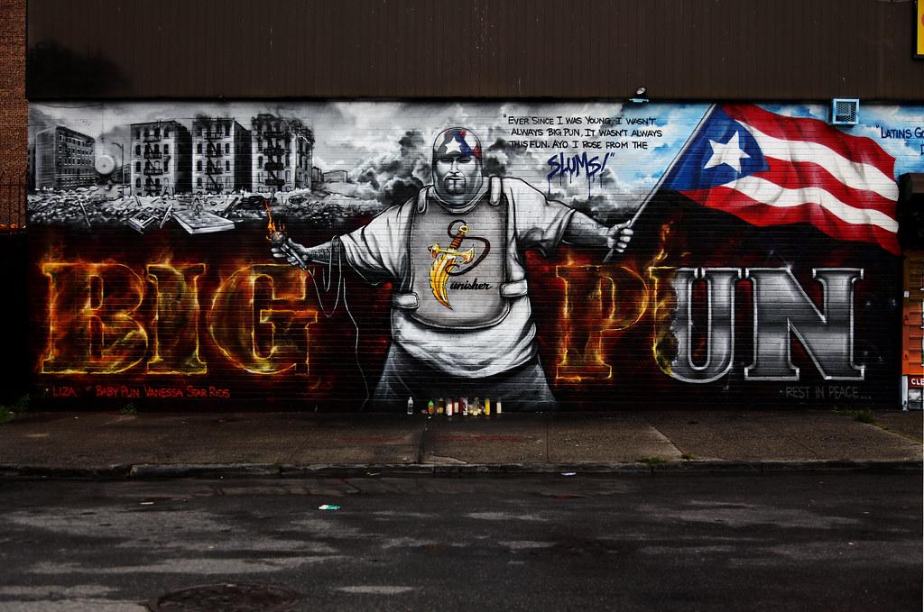 Graffiti 3d Wallpaper Big Pun Mural R I P Big Punisher Memorial Wall Big
