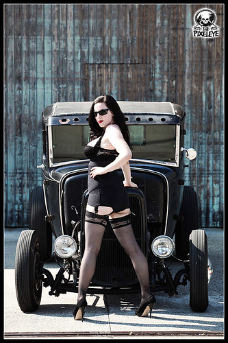 Vintage Pin Up Girl Wallpaper Katja Cintja Black Rod Coupe Ii Photography By Dirk