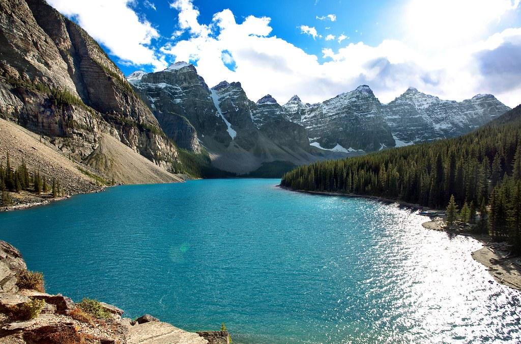 Desktop 3d Live Wallpaper Moraine Lake Moraine Lake Alberta Exhilarating Brian