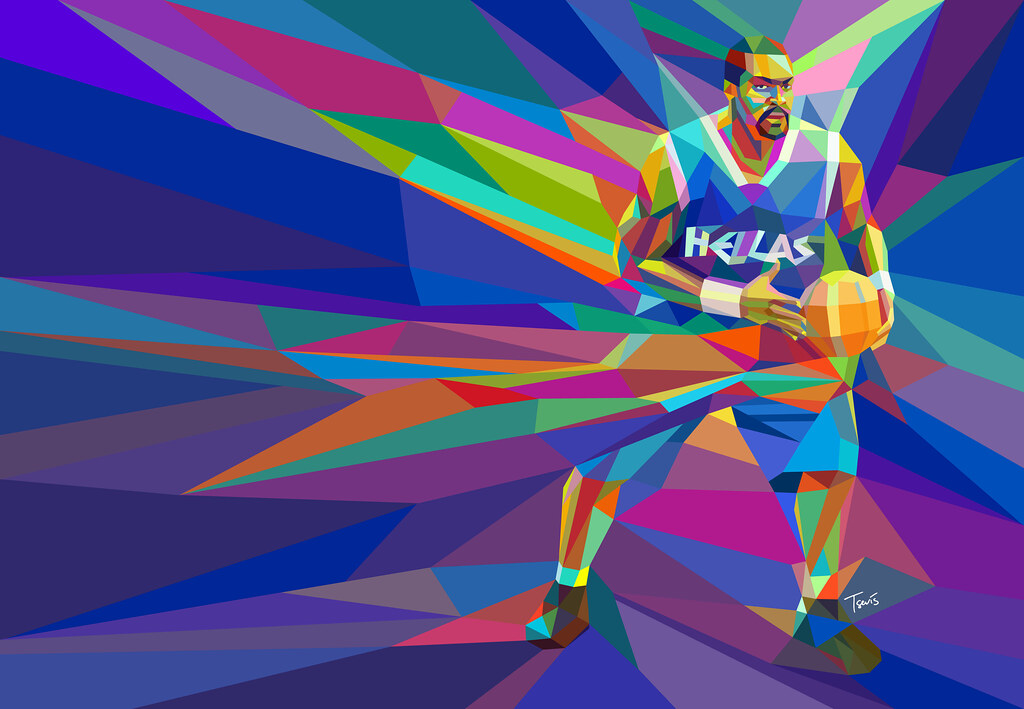 Best 3d Modern Wallpaper Image The Colors Of Basketball 4 Big Sofo A Portrait Of