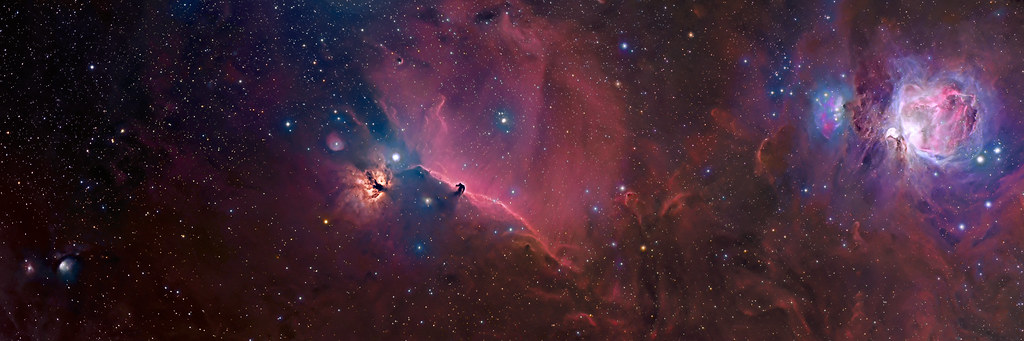 Free 3d Desktop Wallpapers Backgrounds Orion Constellation Panorama Intro For The Non