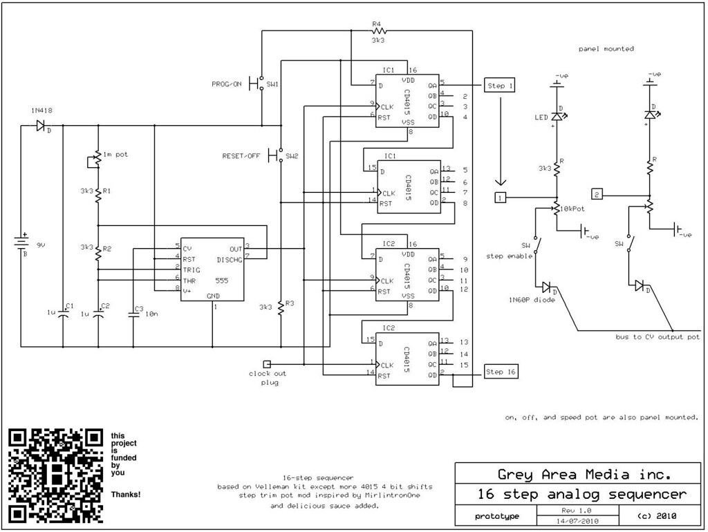 sequencer circuit diagram