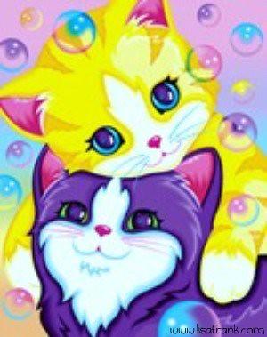 3d Bubbles Wallpaper Kitten Bubbles By Lisa Frank Augusta Keo Flickr