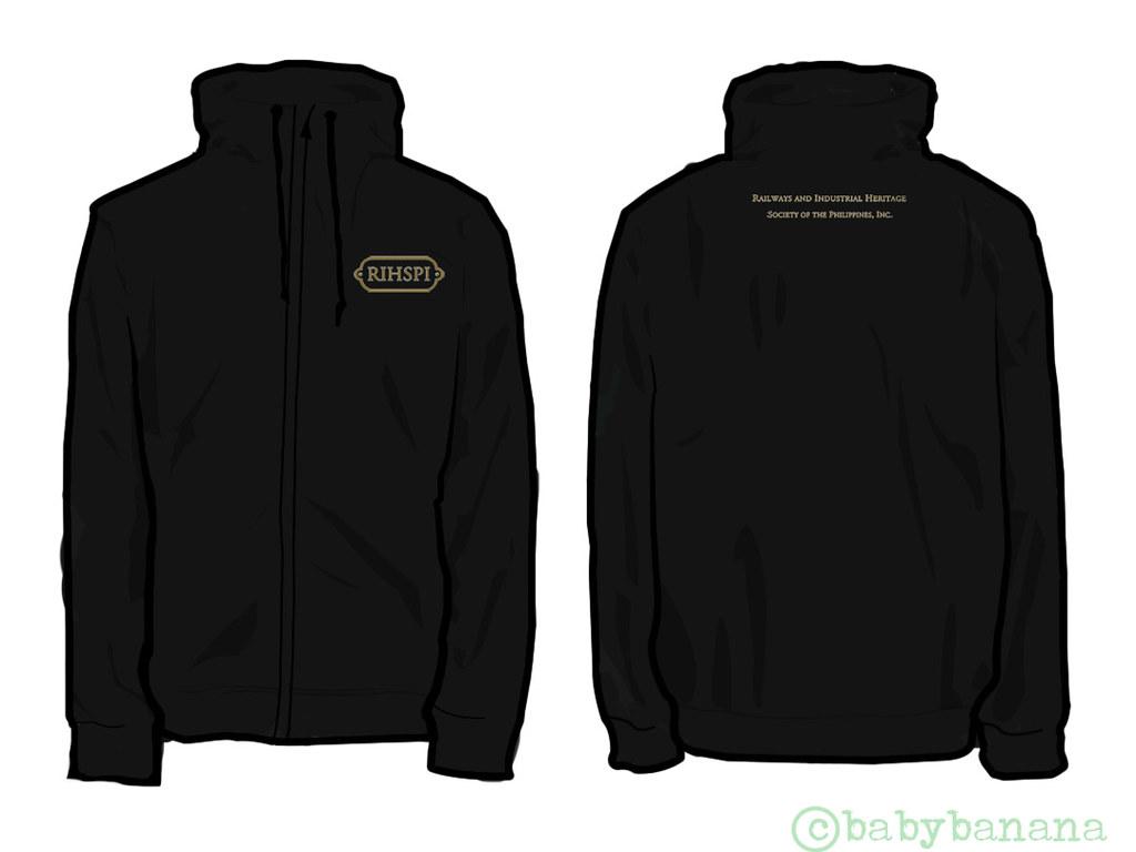 Black Jacket Template Fit Jacket