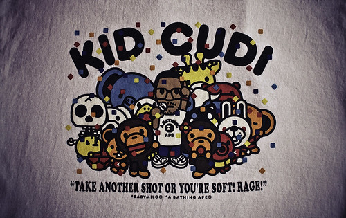 Free Wallpaper 3d 1080p Bape Kid Cudi Wallpaper Party Tee Made A Picture From My