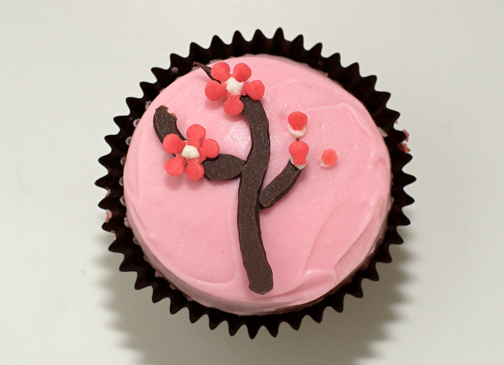 Cherry Blossom Cupcakes Blushing and beautiful, just like \u2026 Flickr - cherry blossom animated
