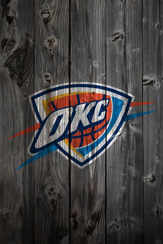Oklahoma Sooners Wallpaper For Iphone Oklahoma City Thunder Wood Iphone 4 Background