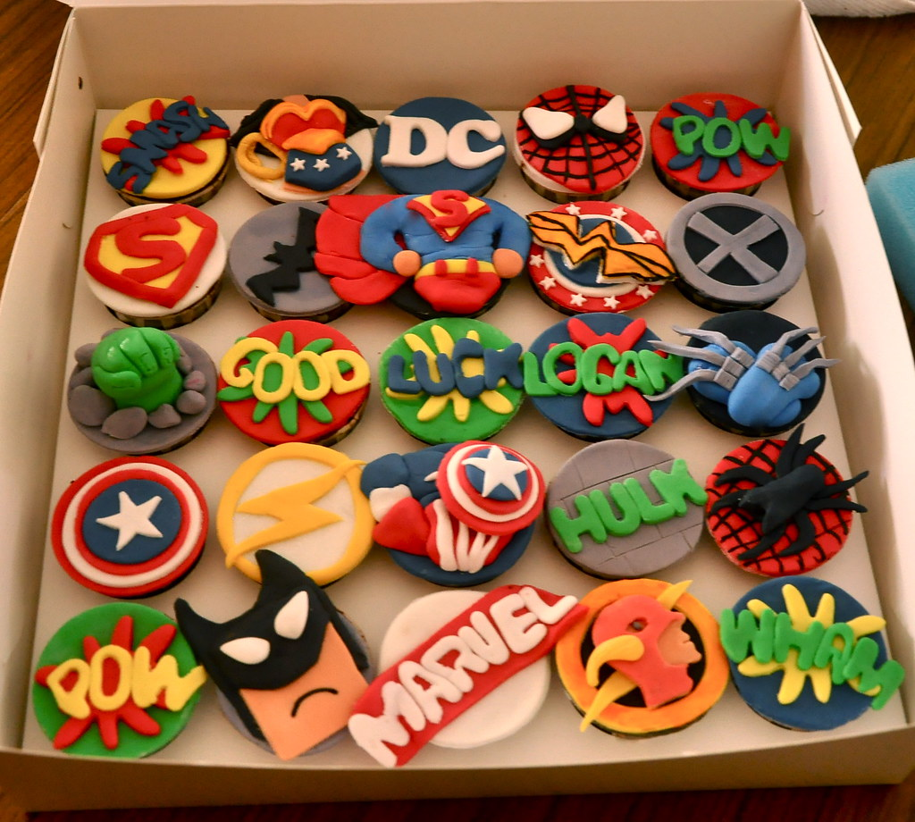 Ideas Para Decorar Galletas Marvel And Dc Comics Super Heroes Some Of My Fav