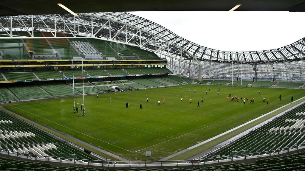 3d Roof Wallpaper The Aviva Stadium Lansdowne Road Dublin The Aviva