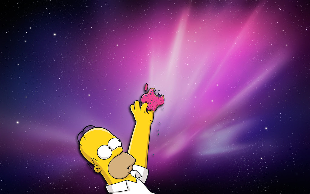 The Simpsons Iphone Wallpaper Homer Simpson Apple Eddie Resendez Flickr