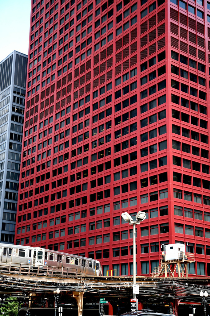 "Dejardin Chicago (ill) Downtown, S Wabash Ave, "" Cna Center "" 1972"