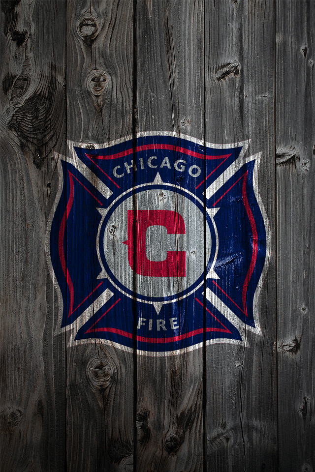 Free 3d Skull Wallpaper Chicago Fire Wood Iphone 4 Background Chicago Fire Logo