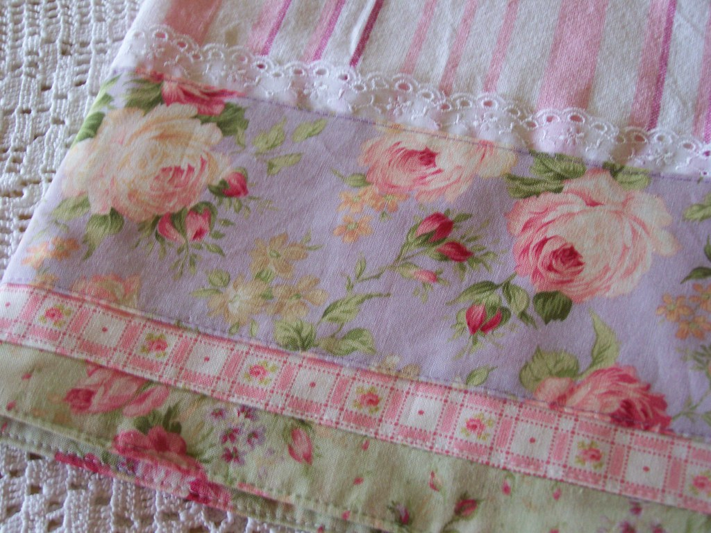 Shabby Chic Shabby Chic Tea Towel For Shabby Decorating. | Shabby Chic