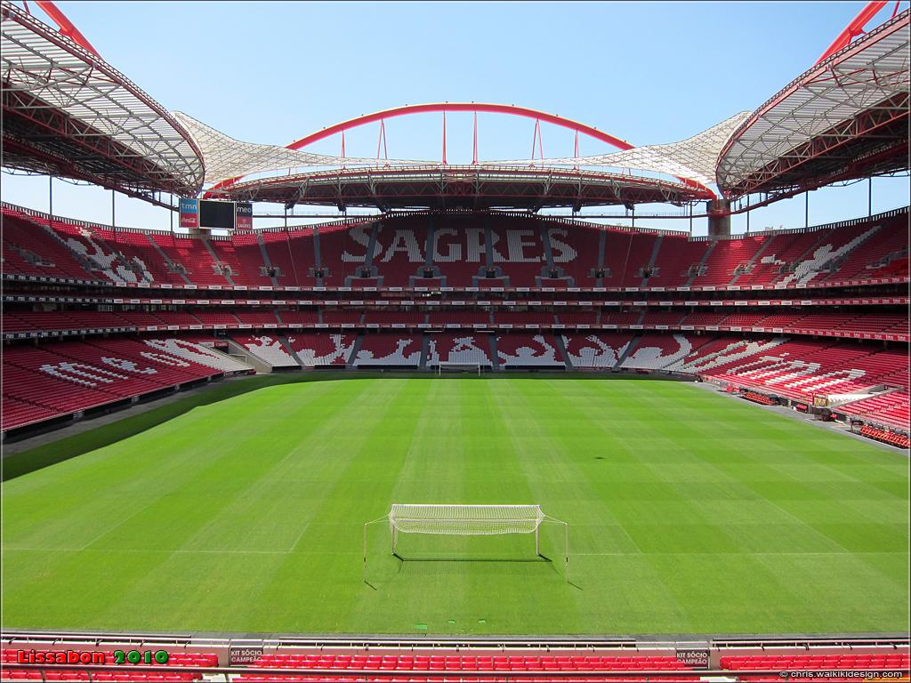 Hd Wallpapers 3d World Map Benfica Stadium Est 225 Dio Da Luz Portugal 2010 Lissabon