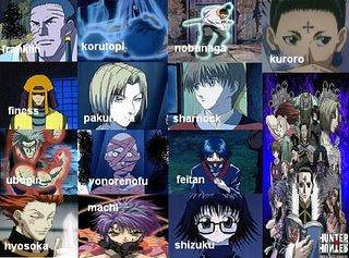 Gon Wallpaper 3d Group Of Spiders Hunterxhunter Hunterxhunter