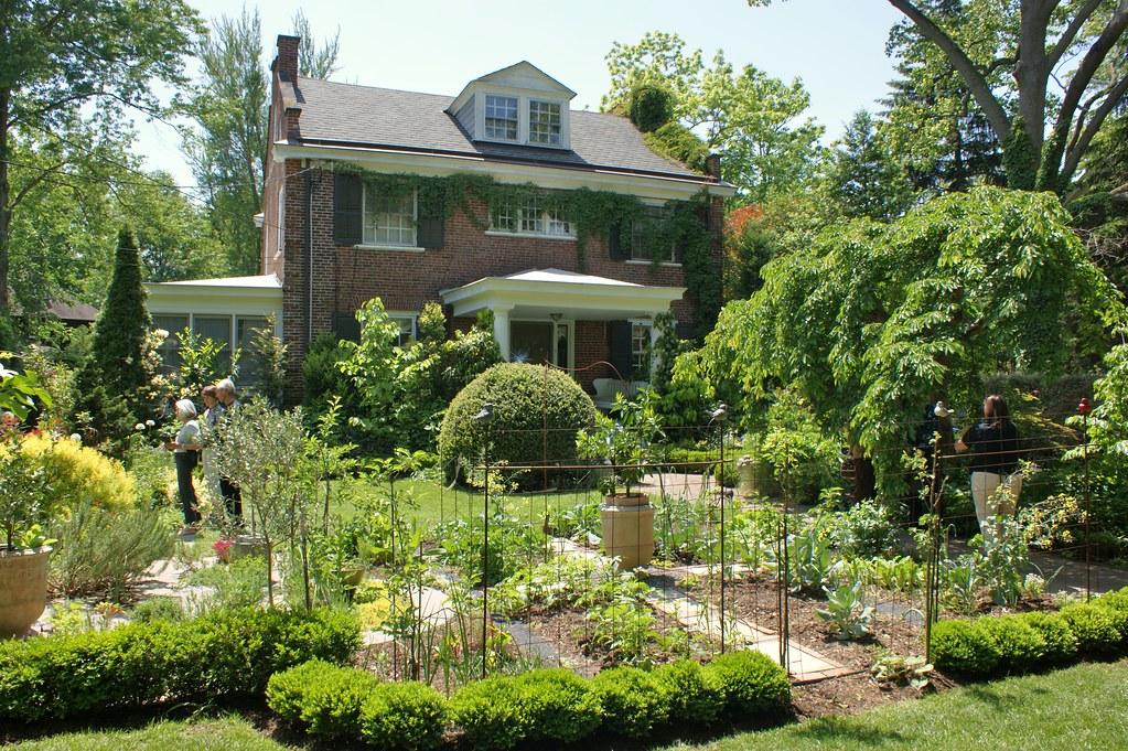 Vegetable amp herb garden in front yard karl gercens flickr