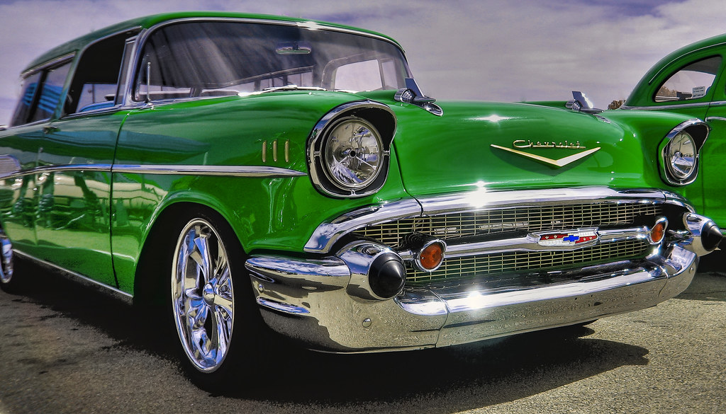 Custom Wallpaper 3d 57 Chevy Nomad Hdr Inverted George Thomas Flickr