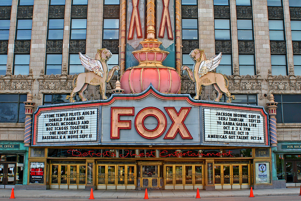 3d Palace Wallpaper Fox Theatre Detroit The Fox Theatre Is One Of Five