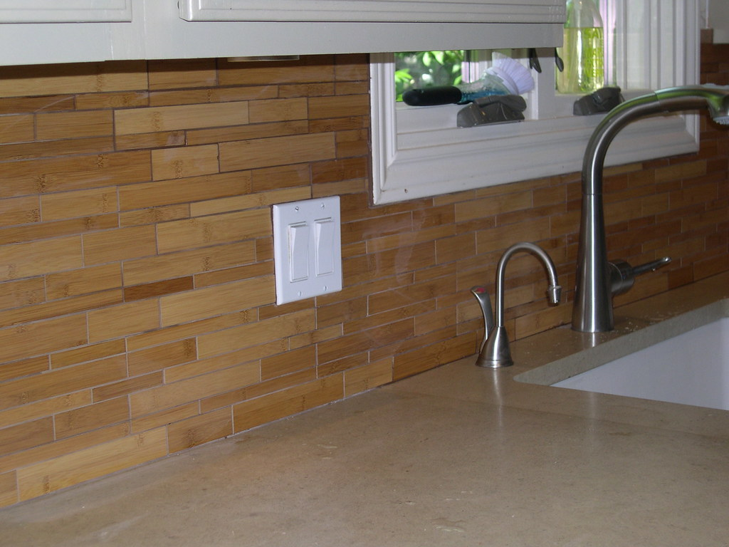 Bamboo Backsplash Bamboo Backsplash Walker Zanger Bamboo Rebecca Caisse