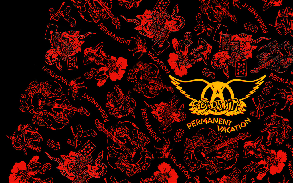 Beatles Iphone Wallpaper Free Aerosmith Permanent Vacation 16x10 Desktop Wallpaper