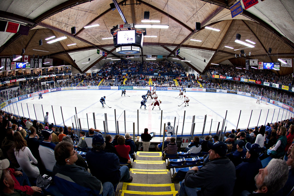 Hockey East Arenas  collegehockey