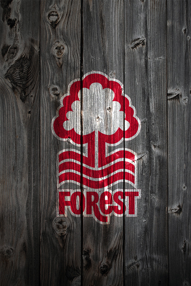 Iphone D Nottingham Forest Fc Wood Iphone 4 Background Logo On