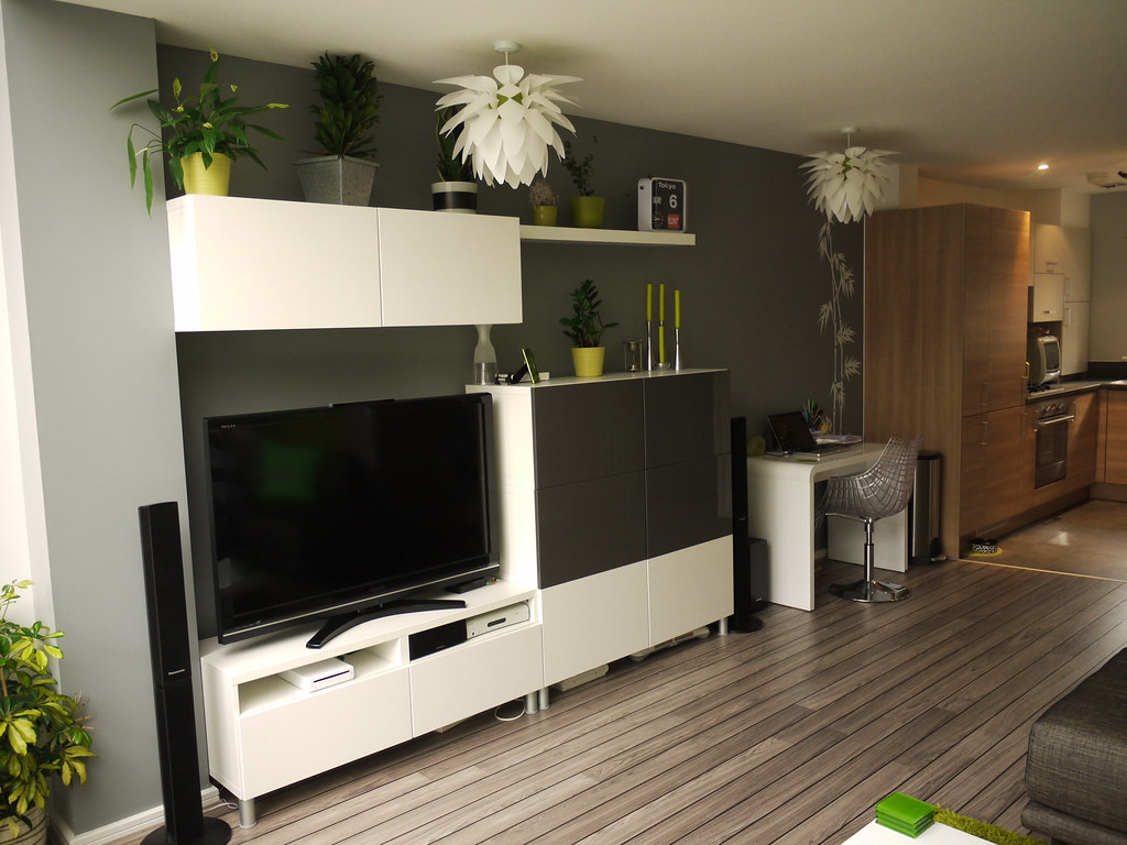 Meuble Billy Modern Tv Unit With Lots Of Storage | I Saw A Similar Tv