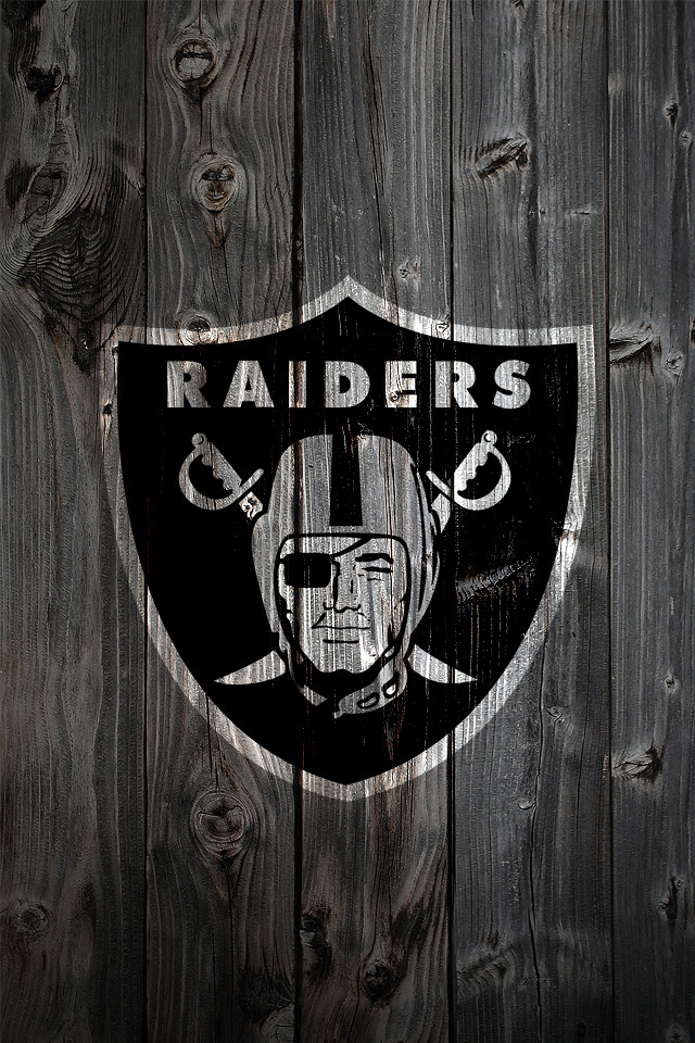 Raiders Wallpaper 3d Oakland Raiders Wood Iphone 4 Background Oakland Raiders