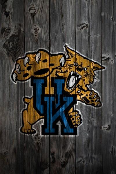 Kentucky Wildcats Alternate Logo Wood iPhone 4 Background | Flickr