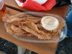 Small Of Chicken Fried Bacon