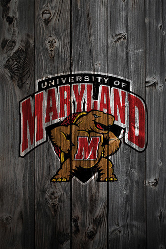 Retro Wallpaper Iphone Maryland Terrapins Wood Iphone 4 Background Maryland
