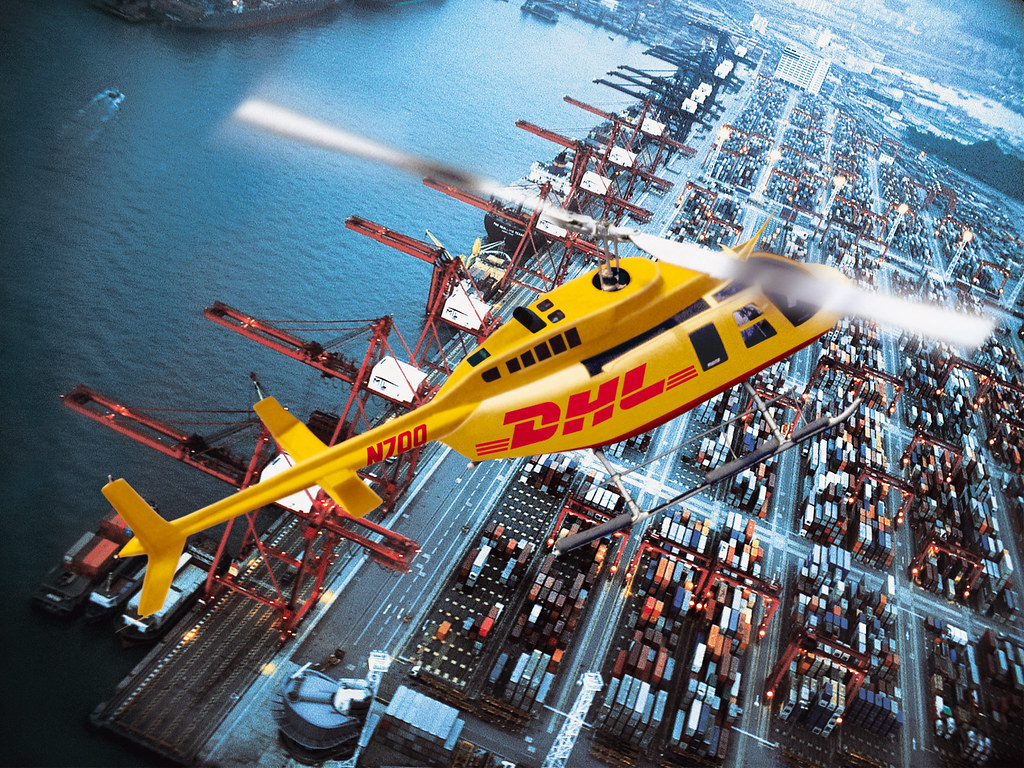 Free Wallpaper 3d Hd Dhl Helicopter Deutsche Post Dhl Flickr