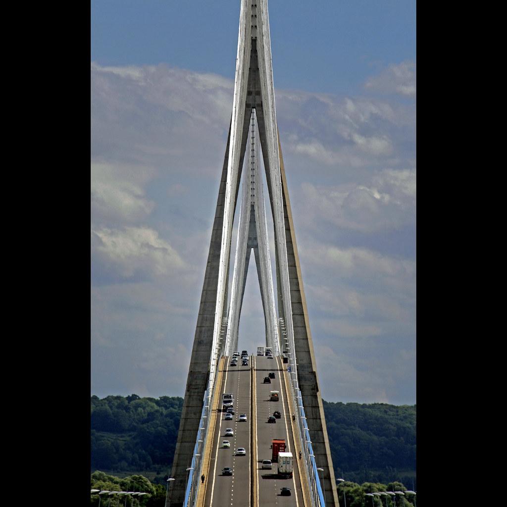 3d Wallpaper Images Le Pont De Normandie Ii View Of The Magnificent Pont De
