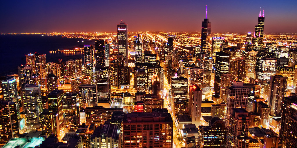 New 3d Wallpaper 1920x1080 Chicago By Night Buy A Beautiful Print Of This Photo