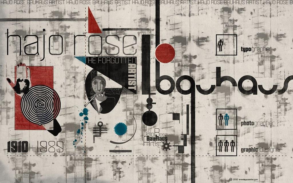 3d A Letter Wallpaper Bauhaus Hajo Rose 187 The Forgotten Artist 171 For Widescreen D