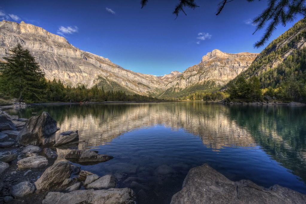 Amazing Wallpapers 3d Lac De Derborence Suisse Switzerland Philippe Saire