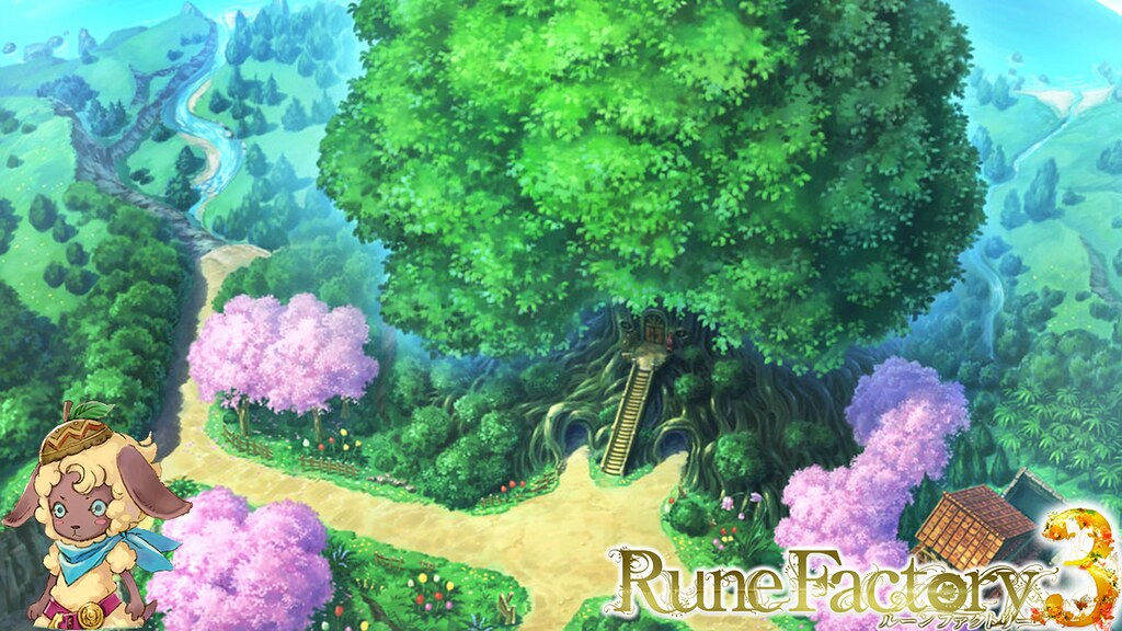 Fantasy 3d Wallpaper Desktop Rune Factory 3 Wallpaper 2 I Made This Wallpaper With