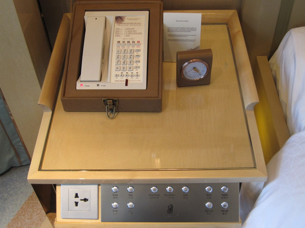 Bedside Table Clocks Bedside Table Phone In A Box Alarm Clock And Room