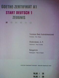 Entry7 German Certification A1 Level German Language Course