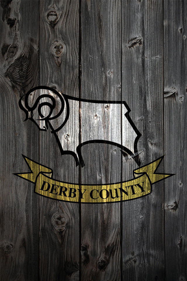 Iphone 4a Wallpaper Derby County Fc Wood Iphone 4 Background Logo On Wood
