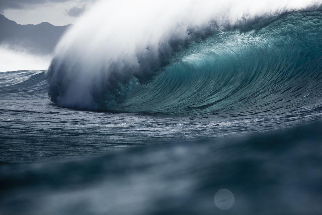 White Wave 3d Wallpaper Banzai Pipeline Barrel Coastalcreature Flickr
