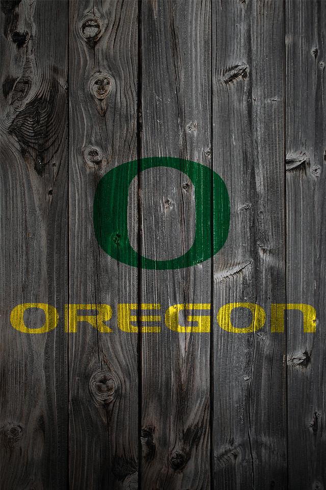Michigan State Hd Wallpaper Oregon Ducks Wood Iphone 4 Background Oregon Ducks Logo